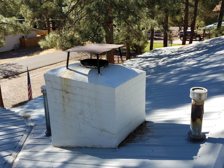 Chimney rain cap, flue cover, fireplace damper,  chimney top cover